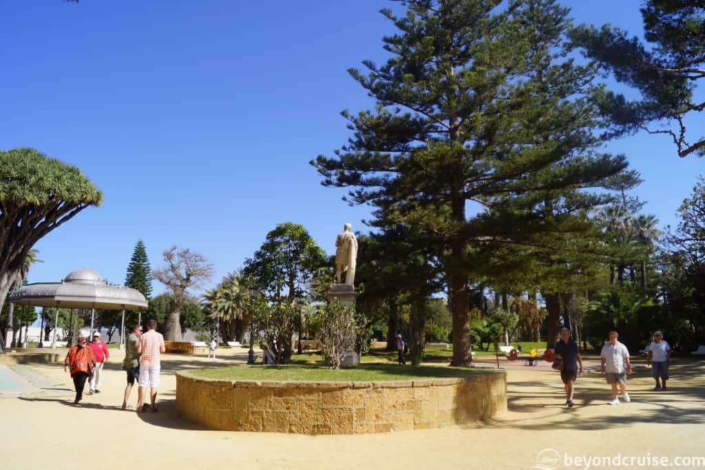 Cadiz botanical gardens