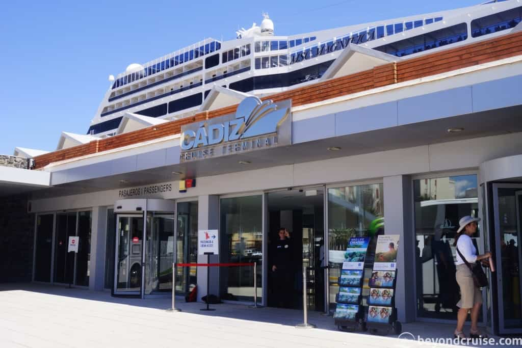 Cadiz cruise ship terminal
