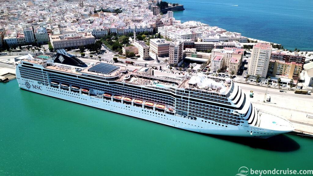 MSC Magnifica in Cadiz