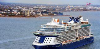 Celebrity Edge Departs STX Shipyard, Saint-Nazaire