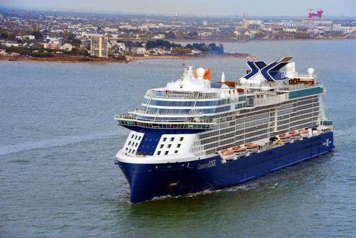 Celebrity Edge Departs STX Shipyard, Saint-Nazaire