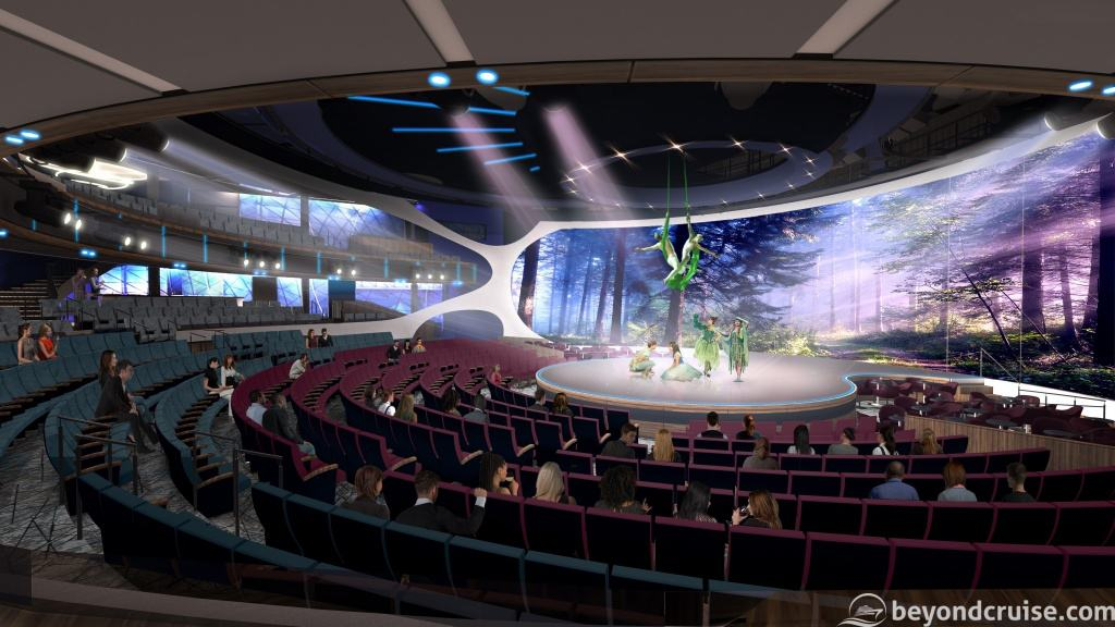 Celebrity EDGE - The Theatre preview