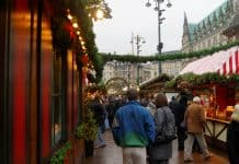 Hamburg's biggest Christmas market