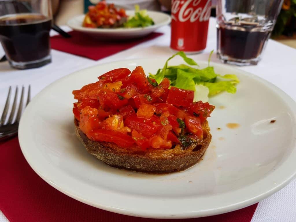 Rome - Bruschetta starter
