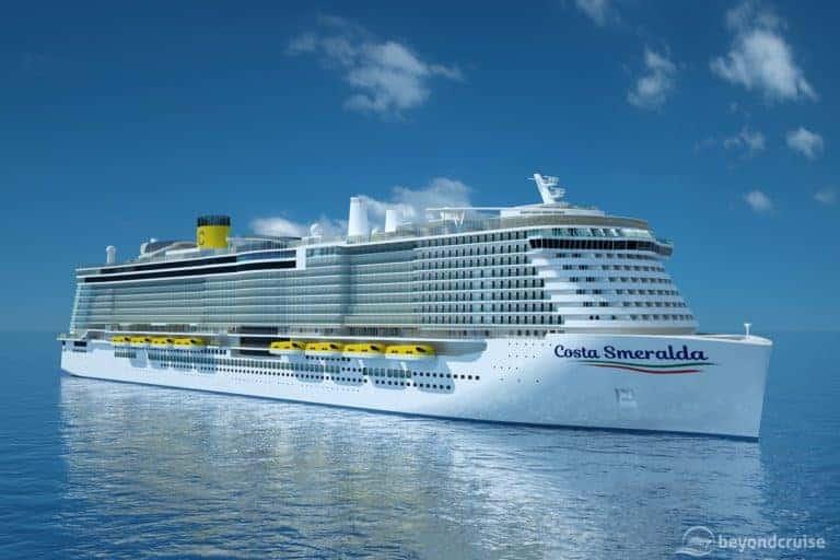 Costa Smeralda Delivery Delayed Until November