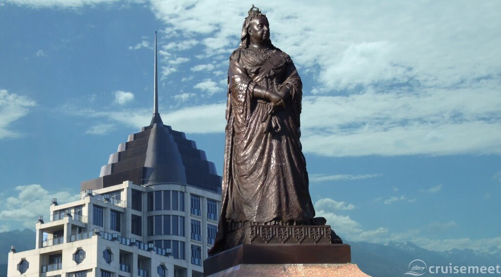 Auckland: Queen Victoria monument downtown
