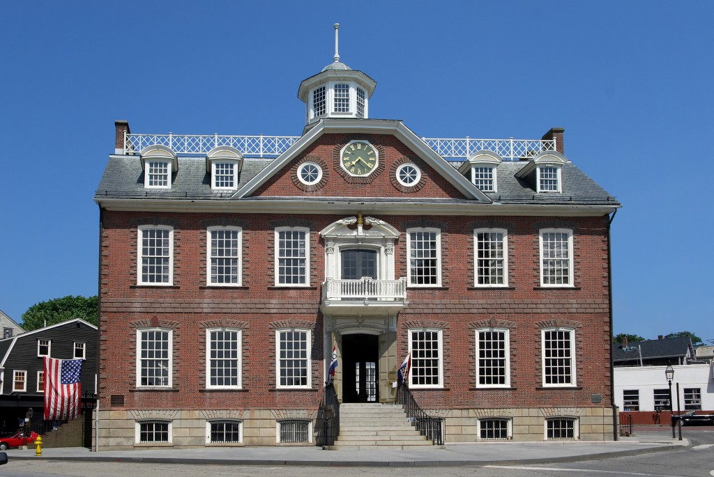 Newport: Colonial government building