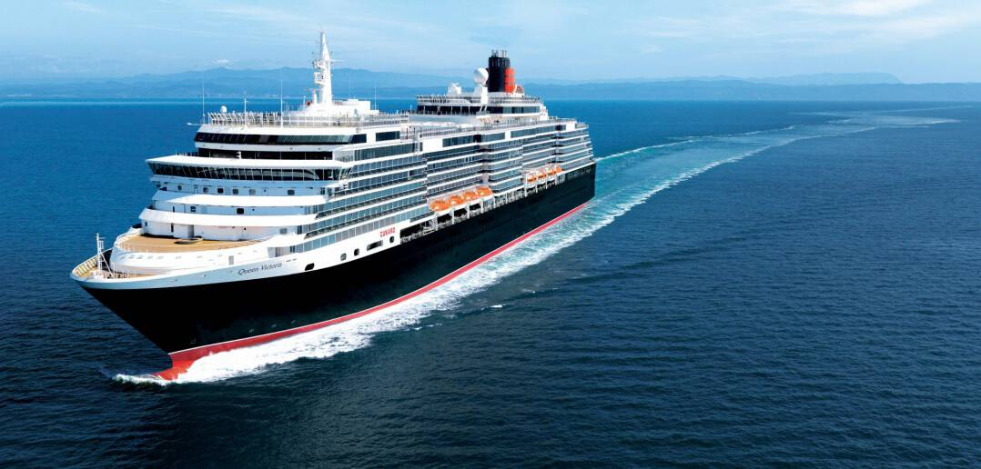 Cunard Line's Queen Victoria at Sea - Cunard World Cruise 2016