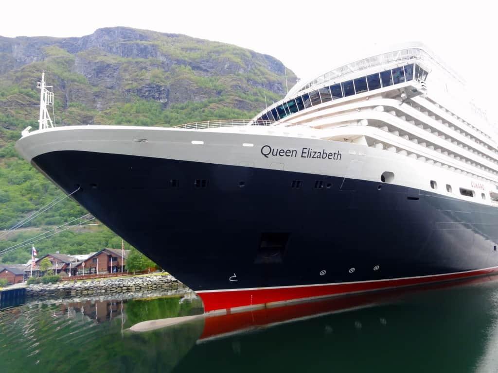 Cunard Elizabeth in Norway
