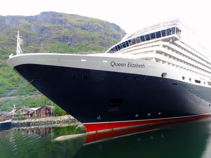Cunard Elizabeth in Norway