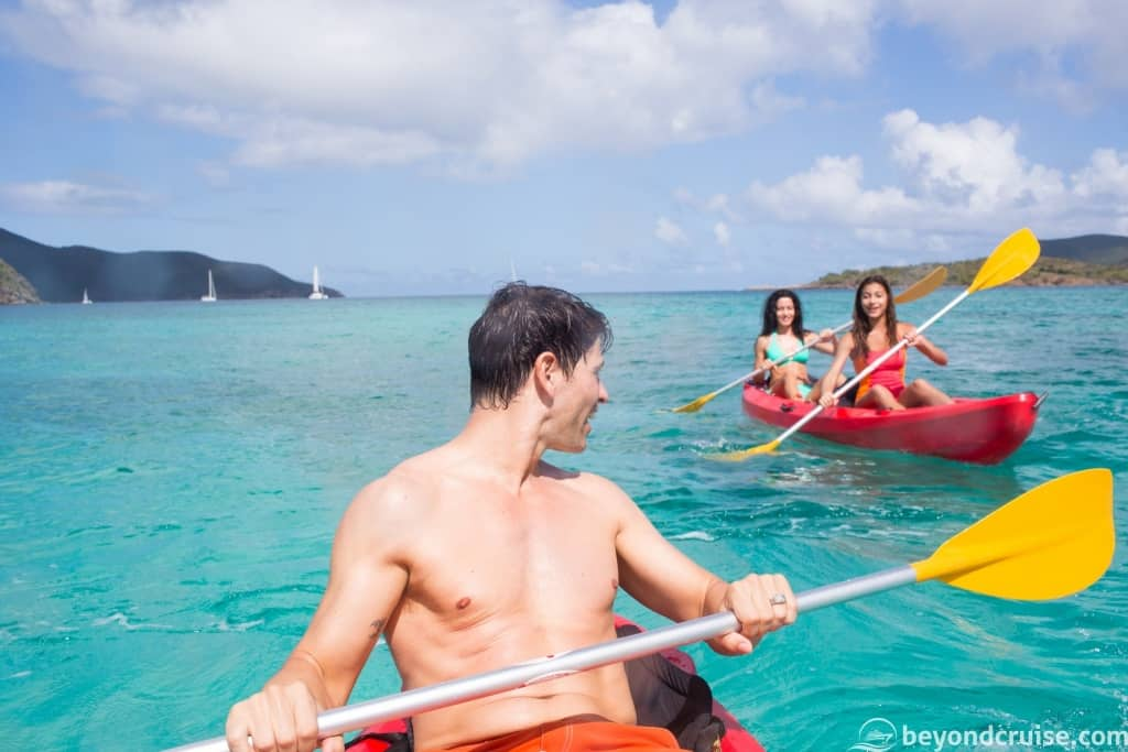 Kayaking Excursion with Norwegian Cruise Line