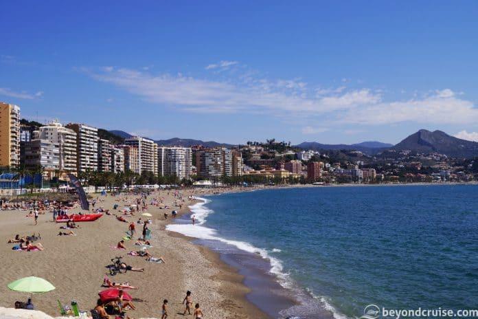 Malaga Beach - Playa de La Malaguerta