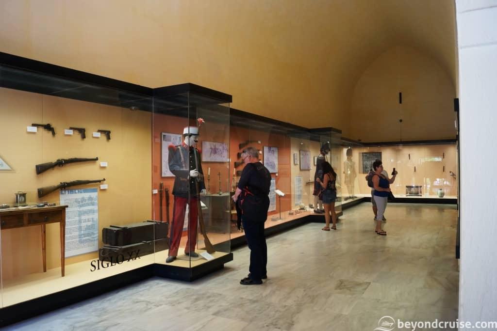 Malaga MSC Cruises excursion City tour museum