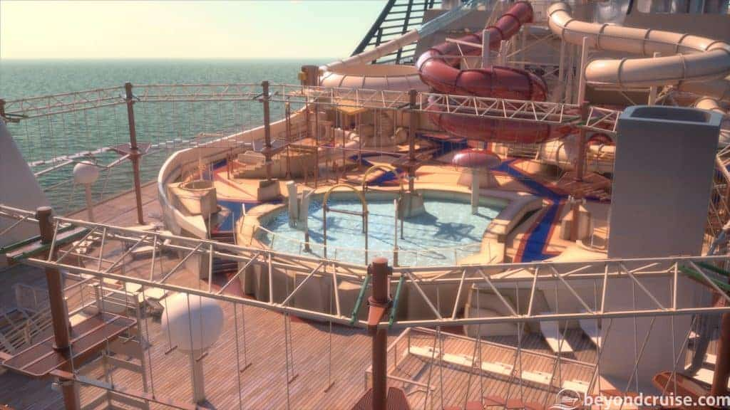 MSC Bellissima - Arizona Aquapark (render)