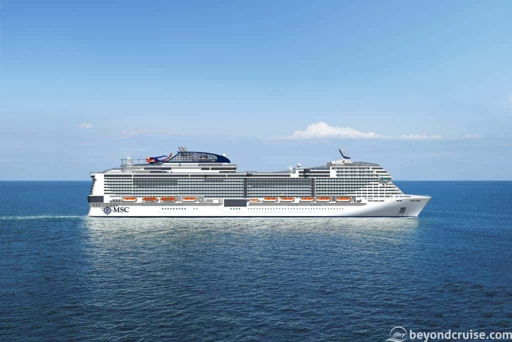 MSC Bellissima preview
