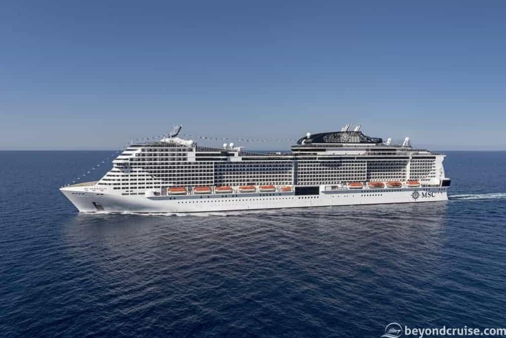 MSC Cruises' MSC Meraviglia