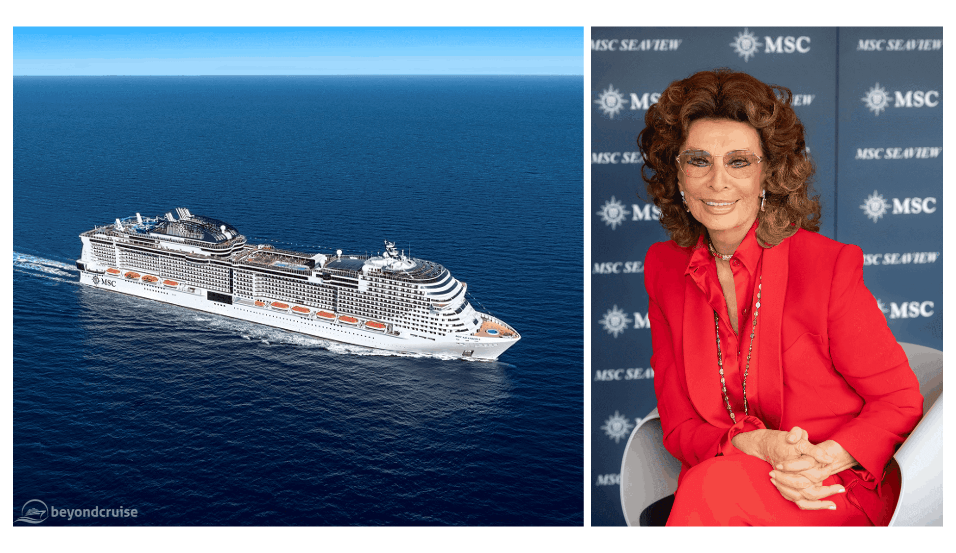 MSC Grandiosa naming ceremony preview