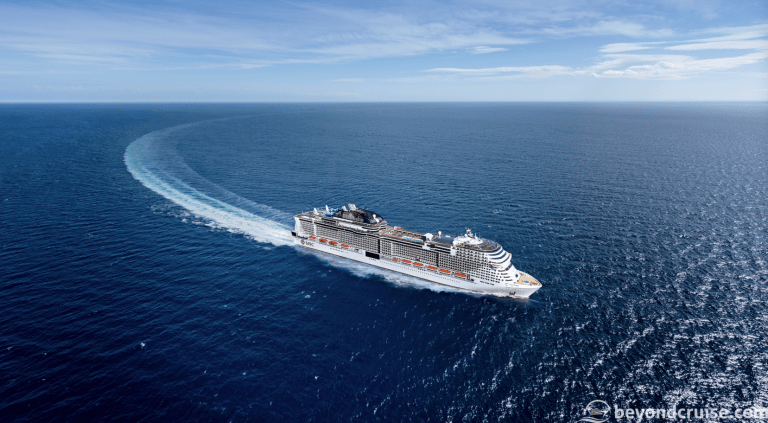 Bookings for MSC Grandiosa now open!