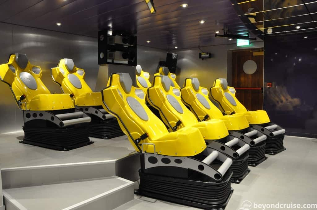 MSC Magnifica 4D Cinema