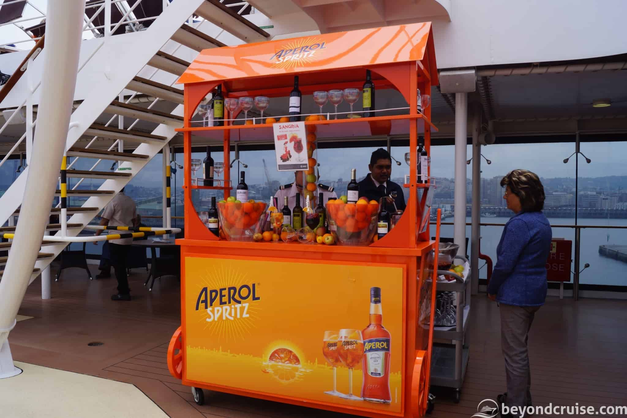 Everything MSC Magnifica – Part 5 – Ultimate Beverage Guide