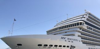 MSC Magnifica at Lisbon Cruise Terminal