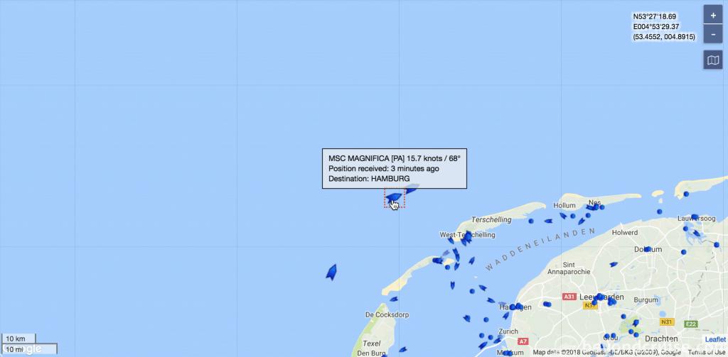 MSC Magnifica sea day with Queen Elizabeth and AIDAperla