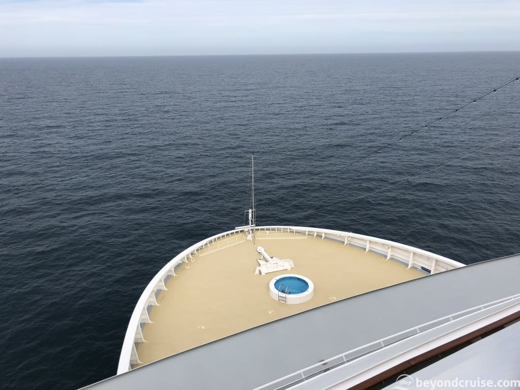 MSC Magnifica Deck 14 forward balcony