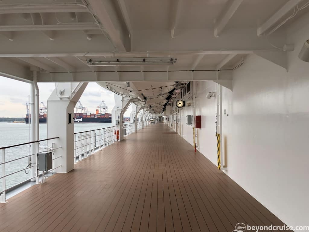 MSC Magnifica Deck 7 outside