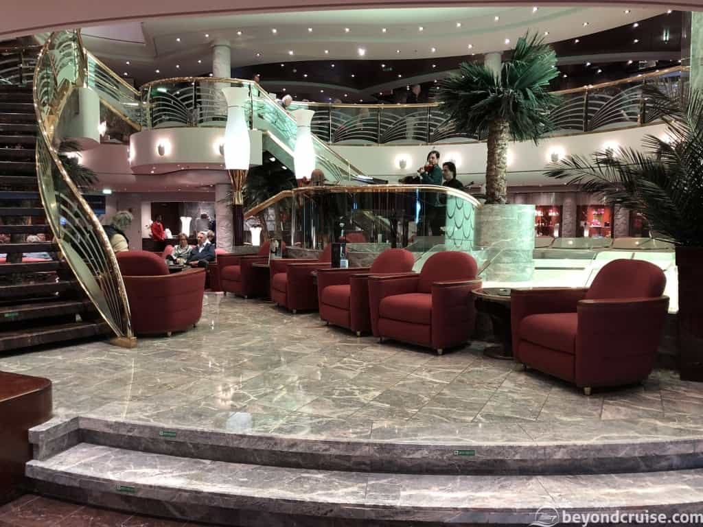 MSC Magnifica Grand lobby lower