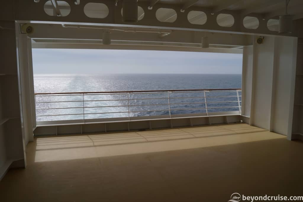 MSC Magnifica hidden area Deck 12 centre
