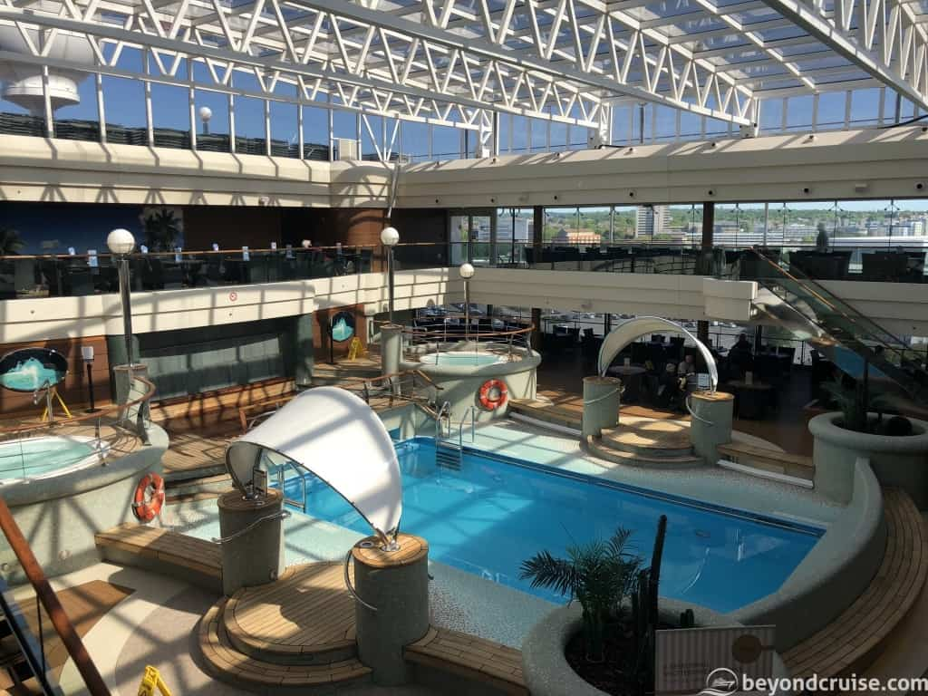 MSC Magnifica Deck 13 indoor pool