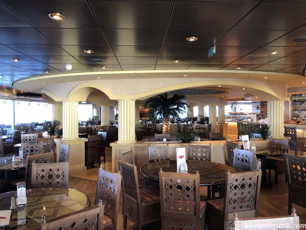 MSC Magnifica L'Oasi Restaurant
