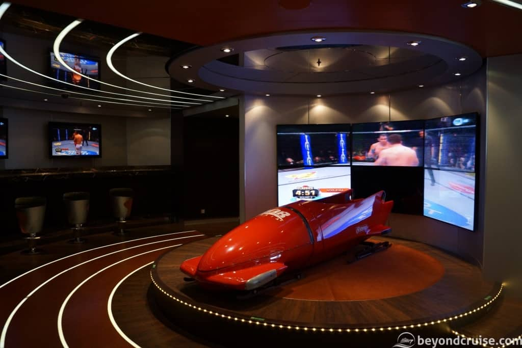 MSC Magnifica L'Olimpiade Sports Bar