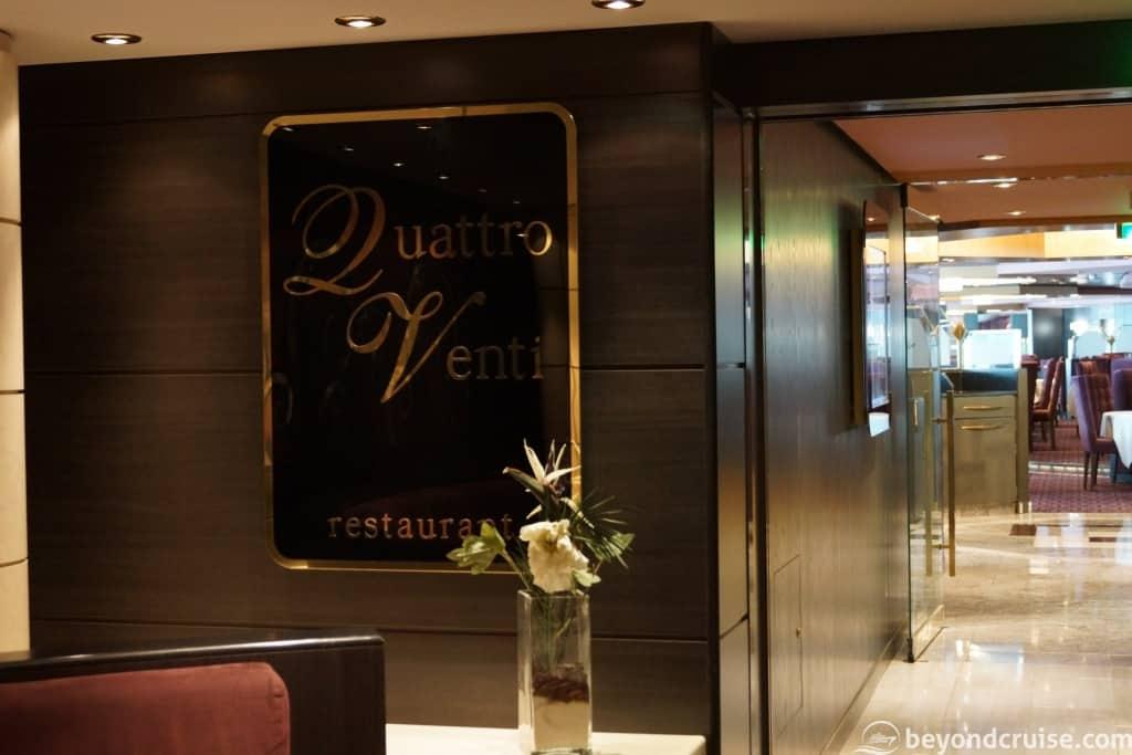 MSC Magnifica Quattro Venti restaurant