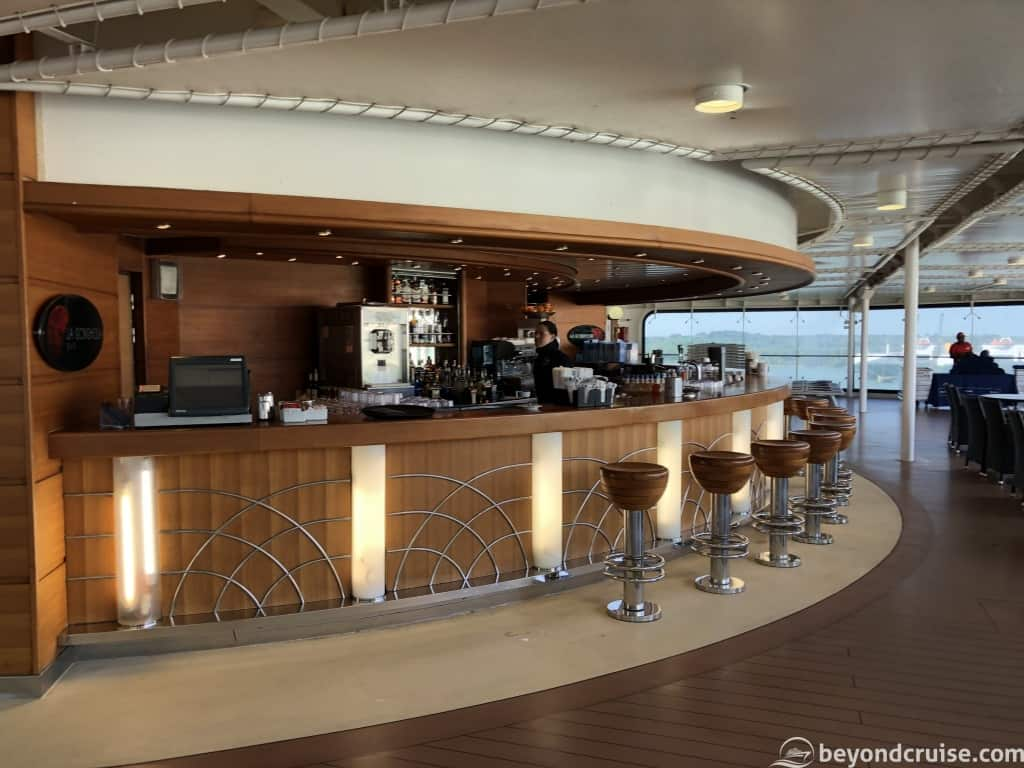 MSC Magnifica outside pool bar on Deck 13