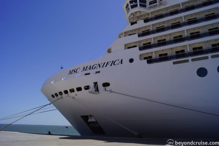 MSC Magnifica 14-night voyage – Full Daily Programs