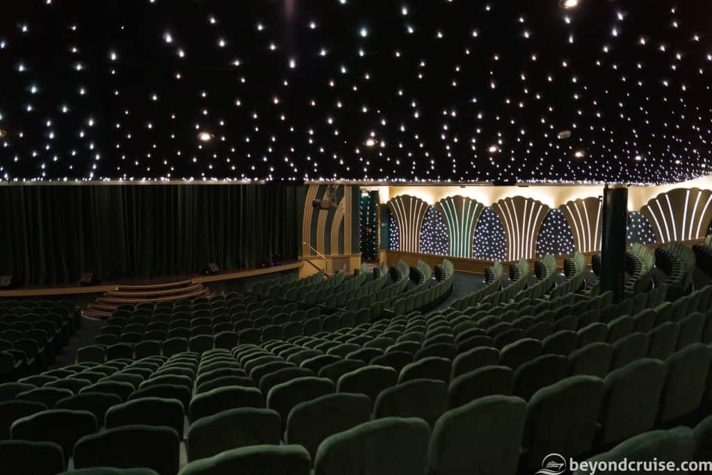 MSC Magnifica Royal Theatre lower tier