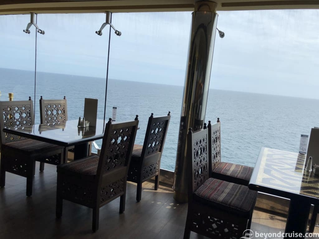 MSC Magnifica Sahara Buffet breakfast view