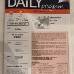 Example daily program
