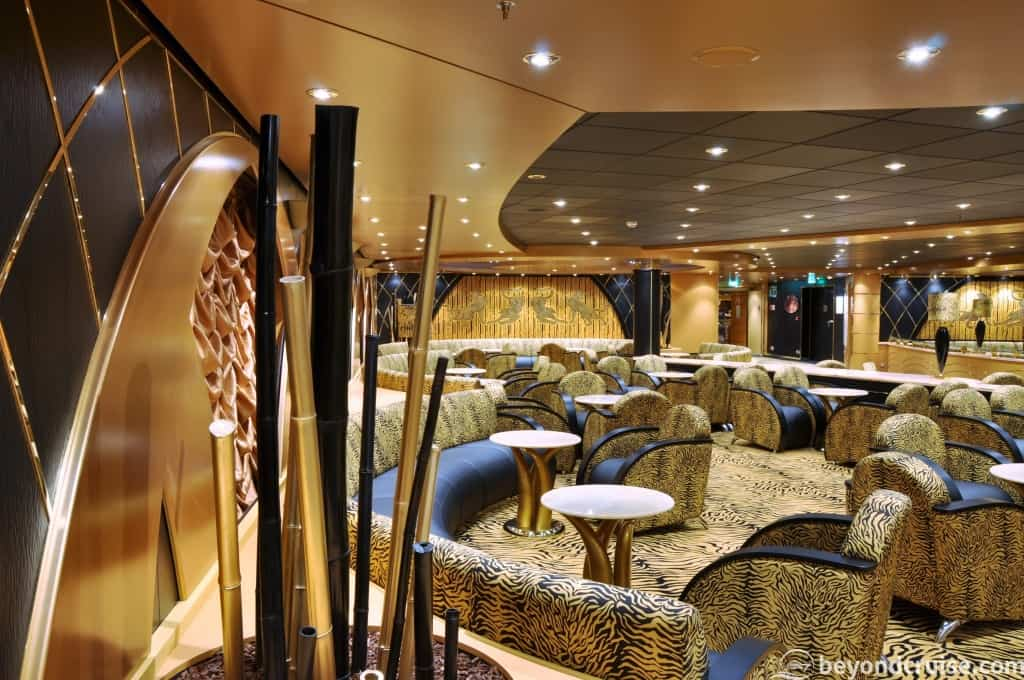 MSC Magnifica Tiger Bar