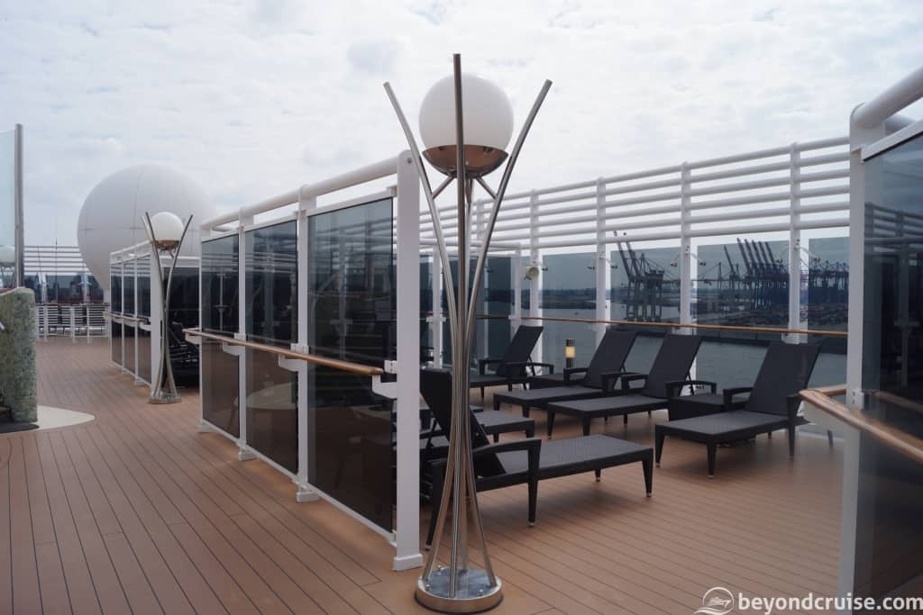 MSC Magnifica Top 16 Exclusive Solarium