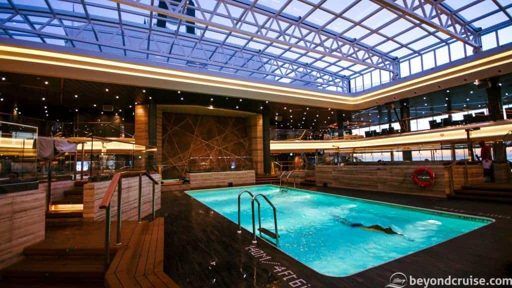 MSC Meraviglia Bamboo Pool and Bar