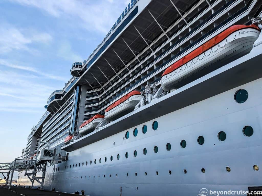MSC Meraviglia - too big for your camera!