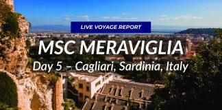 MSC Meraviglia - Live in Cagliari