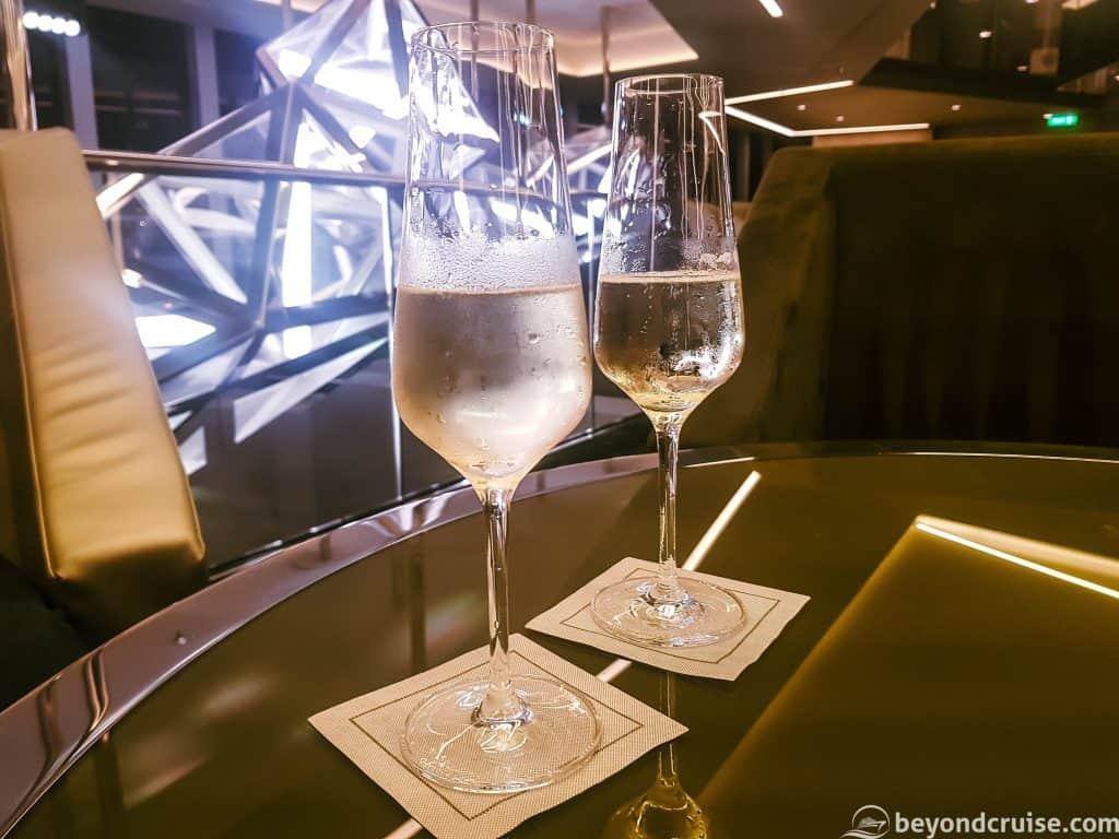 MSC Meraviglia - Champagne Bar - Laurent Perrier champagne