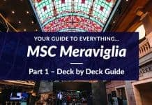 MSC Meraviglia - Part 1 - Deck by Deck Guide
