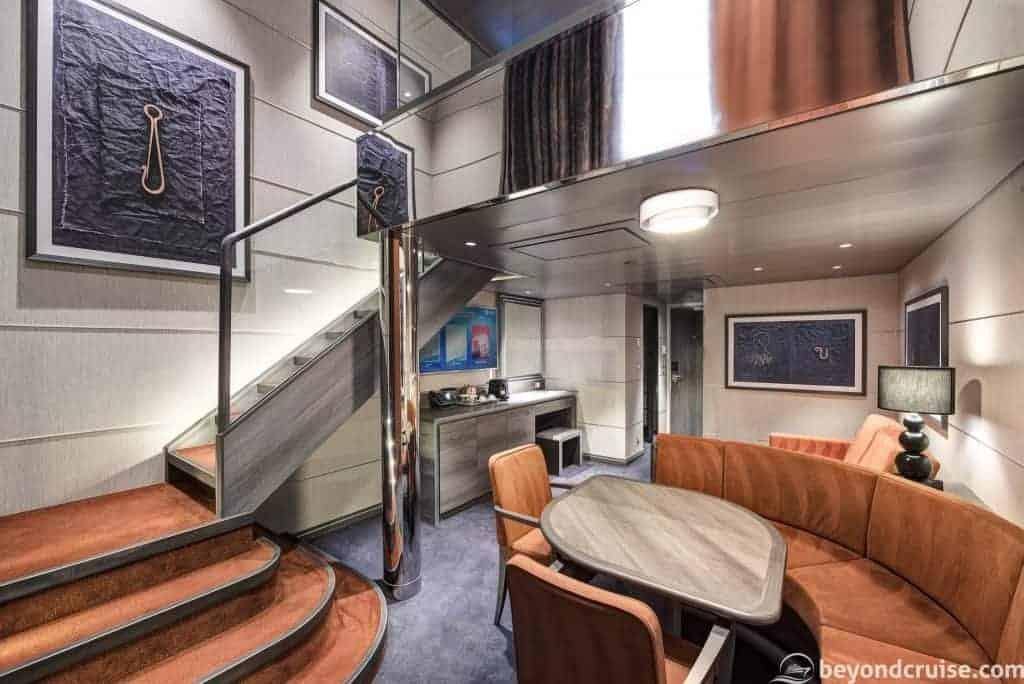 MSC Meraviglia - Duplex Suite downstairs