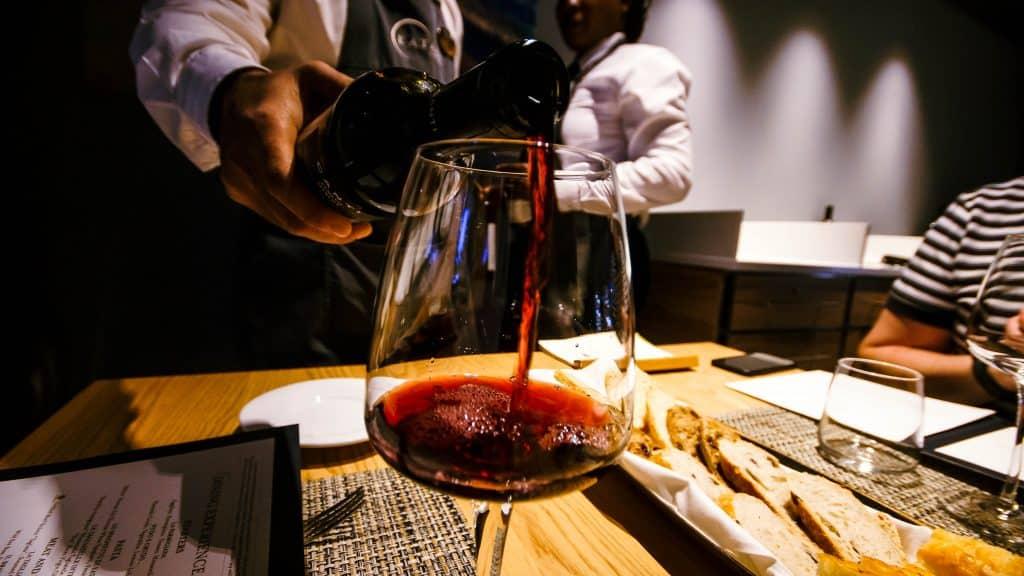 Eataly Ristorante wine - MSC Meraviglia