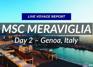 MSC Meraviglia - Day 2 Genoa