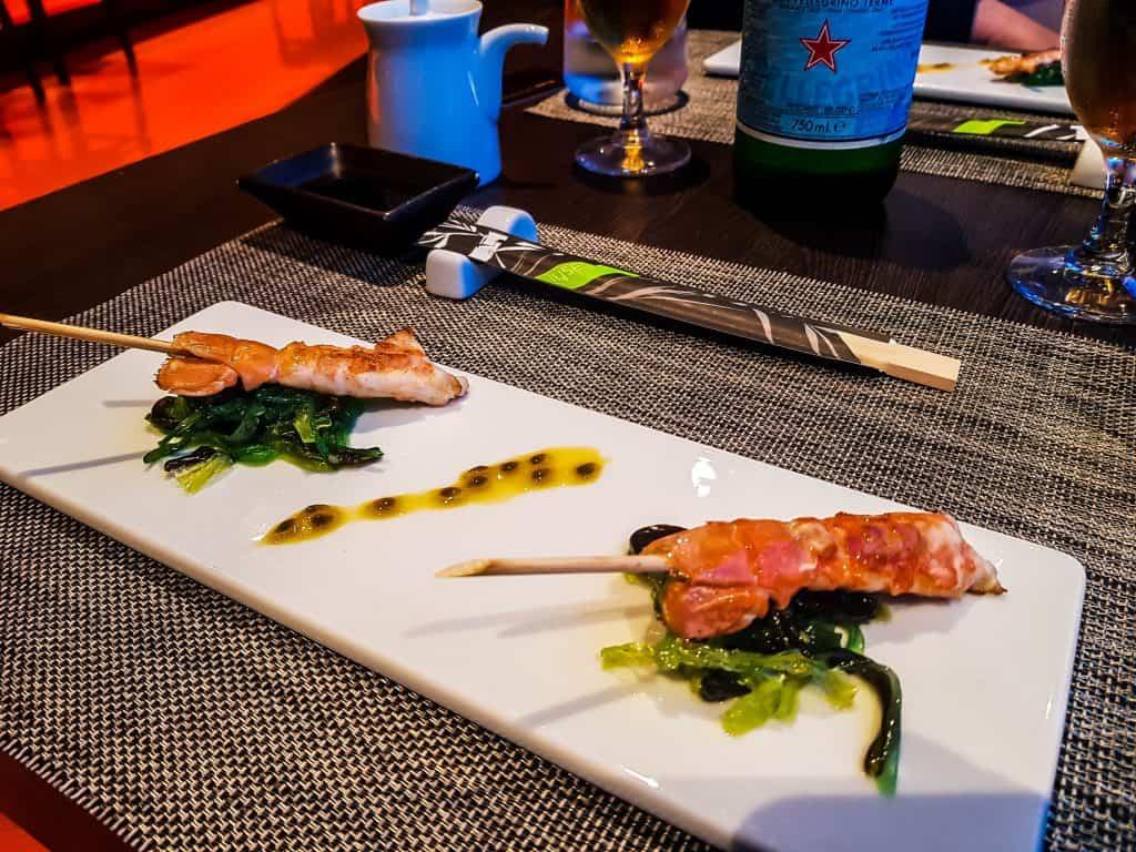 MSC Meraviglia - Kaito Sushi - Scampi Tails